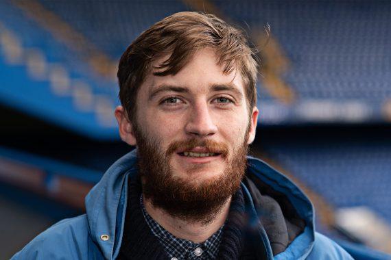 Ryan at Stamford Bridge